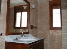 Cuarto de baño totalmente equipado