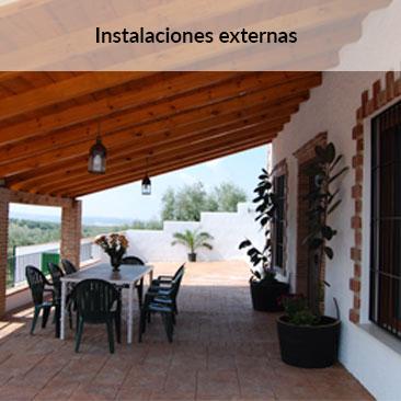 Instalaciones externas